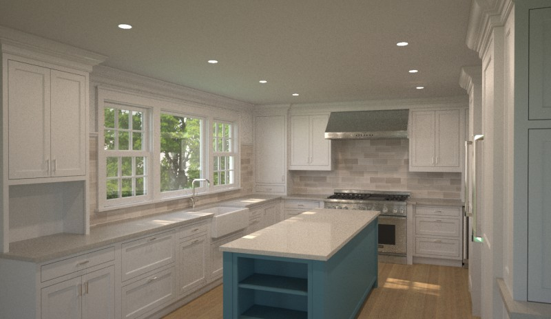 Project Visualization kitchen renovation