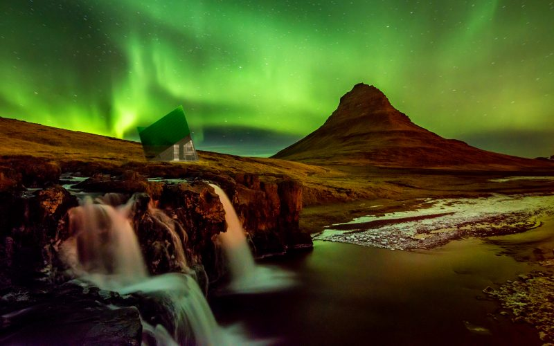 Iceland trekking cabin